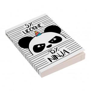 Agenda 12x17cm - 2019/2020 - Panda