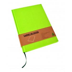 Carnet de notes Color moyen modèle vert