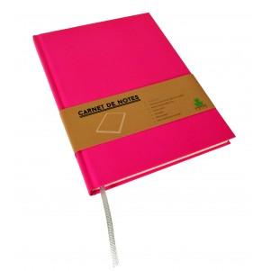 Carnet de notes Color moyen modèle rose