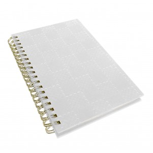 "Carnet de notes ""Graphic""  blanc"