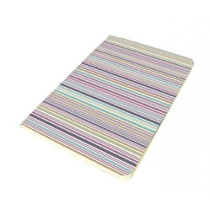 Carnet 11x15cm couverture souple Rayures