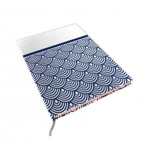 Carnet de notes 15x21cm Japanese Waves
