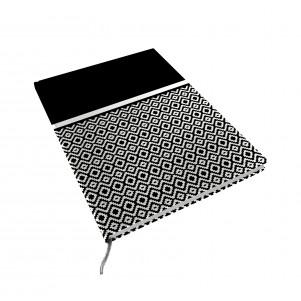 Carnet de notes  15x21cm Noir et Blanc