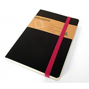 Carnet de notes Elasticool - Elastique fushia