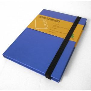 Carnet de notes Elasticolor Bleu