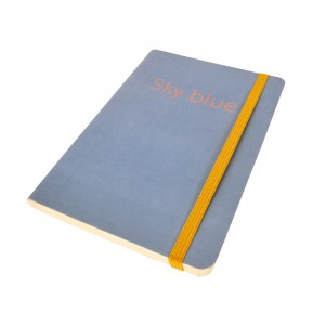Carnet de notes Soft Bleu