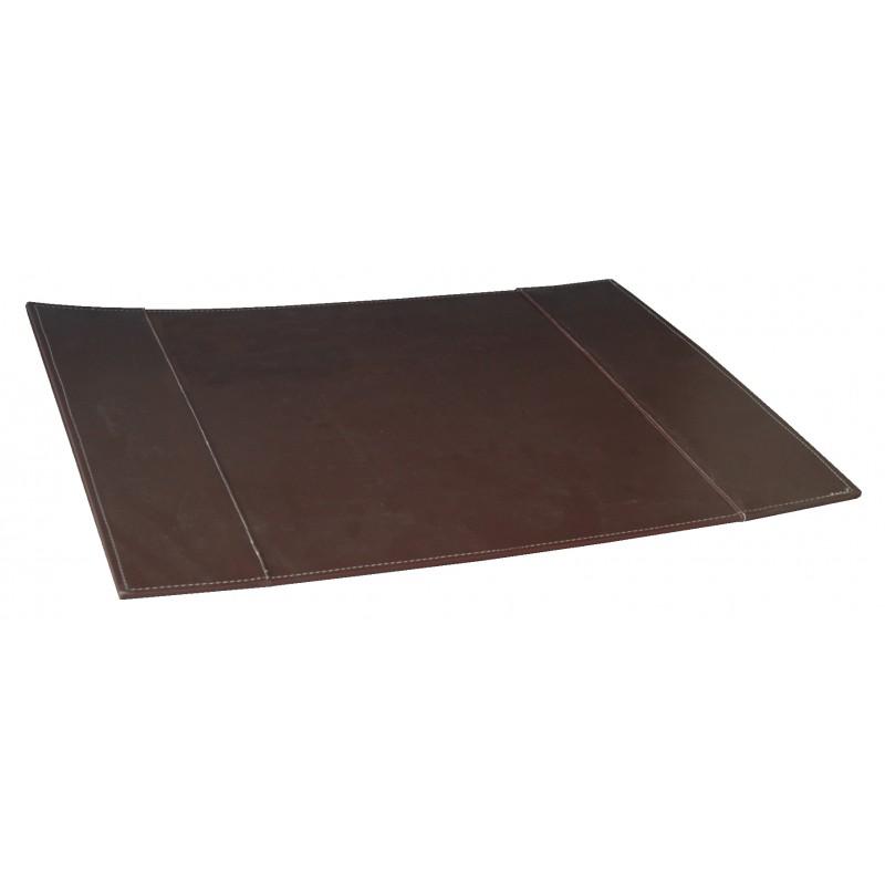 sous main bureau grand sous main de bureau en cuir noir. Black Bedroom Furniture Sets. Home Design Ideas