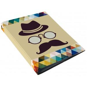 Classeur à anneaux Moustache