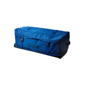 Malle de rangement souple XXL bleue