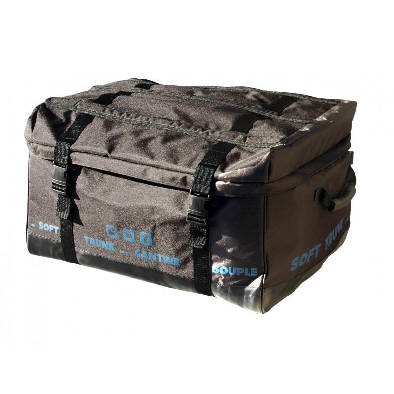 Malle de rangement souple 60cm noire clementinafrog - Malle de rangement plastique ...