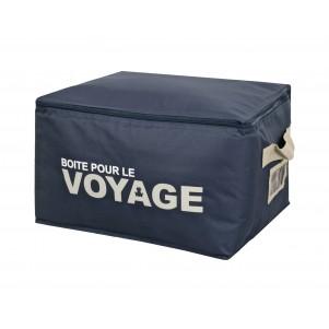 """Boite de rangement souple """"Voyage"""" 45cm"""
