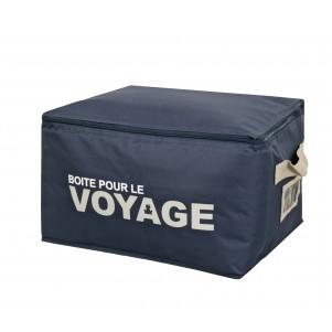 """Boite de rangement souple """"Voyage"""" 55cm"""