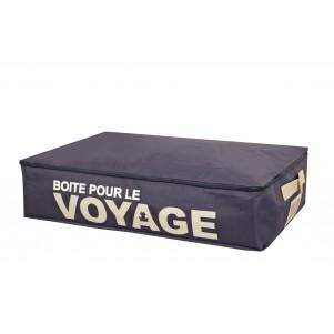 """Boite de rangement souple """"Voyage"""" sous le lit"""