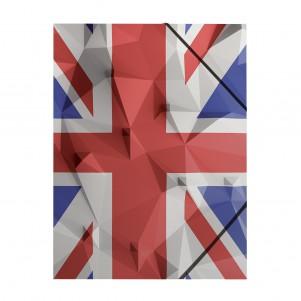 Pochette rabat simple UK