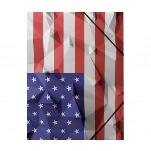 Pochette rabat simple USA